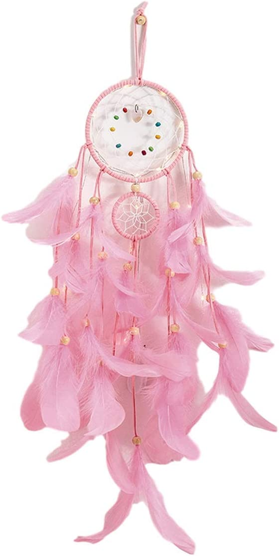 IDB Handmade Dream Catcher for Children Nursery or Bedroom The Perfect Window or Wall Hanging Decoration for Boys and Girls Mixed Dreams