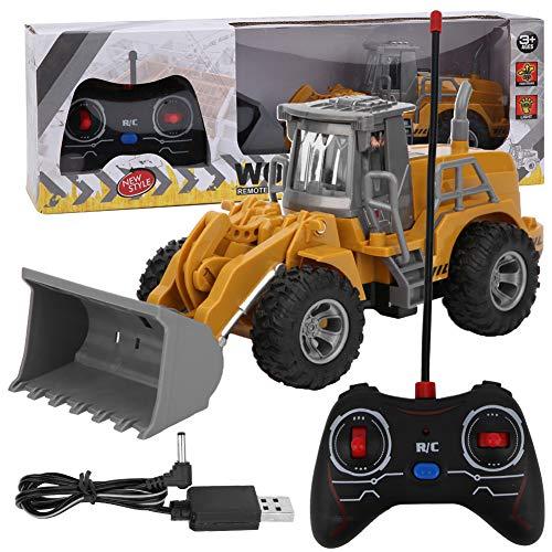 RC Bagger 2.4 GHz Fernbedienung Konstruktion Muldenkipper Konstruktion Traktor Spielzeug Bewegliche Klaue Bagger...