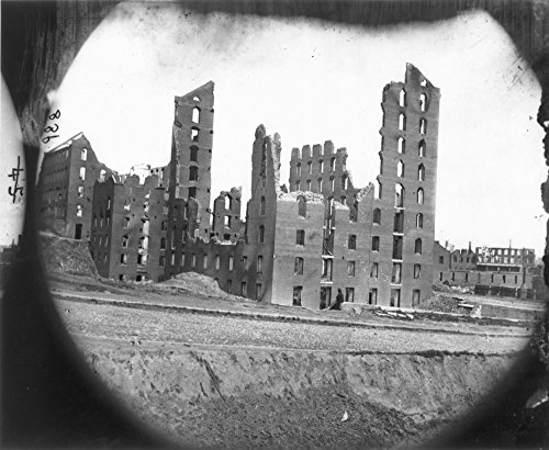Fall Of Richmond Virginia N(April-June 1865) Ruins Of The Gallego Flour Mill In Richmond 1865 Photograph By Alexander Gardner Poster Print by (24 x 36) -  Granger Collection, GRC0006303LARGE
