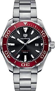 TAG Heuer - Aquaracer WAY101B.BA0746 - Reloj de pulsera para hombre (300 m), color rojo