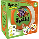 Spot It! Junior Animals Card Game | Game For Kids | Preschool Age 4+ | 2 to 5 Players | Average Playtime 10 minutes | Made by Zygomatic