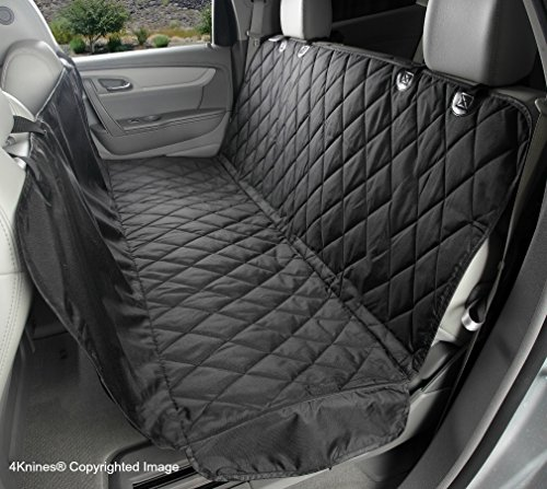 4Knines Dog Seat Cover with Hammock for Cars,...