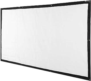 Lichtgewicht HD-projectiescherm, projectiescherm met hoge witheid, 16: 9 voor buitenfilms thuis