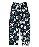 Lazy One Pajama Pants for Men, Men's Separate Bottoms, Lounge Pants (Yeti for Bed, Large)