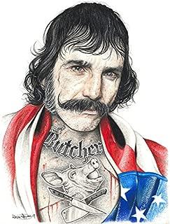 Wee Blue Coo Wayne Maguire Tattooed Bill The Butcher Inked Ikon Canvas Art Print