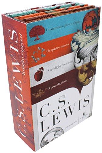 C.S. Lewis - Kit com 4 livros