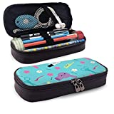 Leather Pencil Case For School Students Office Cartoon Hairdressing Tool Pen Pencils Box
