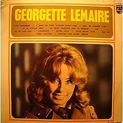 GEORGETTE LEMAIRE les tambours/elle ne chante plus LP 1967 Philips VG++