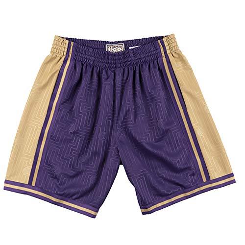 CWWAP - Basketball-Shorts für Damen in Lakers, Größe L