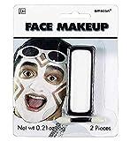 Amscan 395805.08 Cream Non Toxic Face Makeup, White
