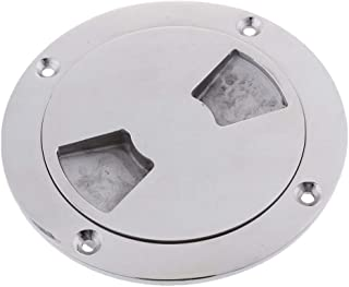 Perfk Boat Deck Inspection Plate/Port Solid Cast Marine 316 Stainless Steel