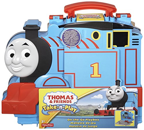 Thomas and friends take-n-play on the go train playbox carry case
