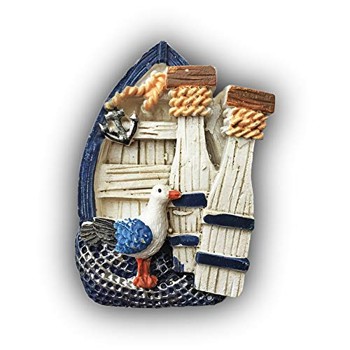 Crete Greece 3D Fishing Boat Refrigerator Magnet Travel Sticker Souvenirs,Home & Kitchen Decoration Fridge Magnet from China