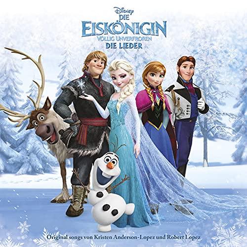 Produktbild von Die Eiskönigin - Völlig Unverfroren - Die Lieder (Frozen)