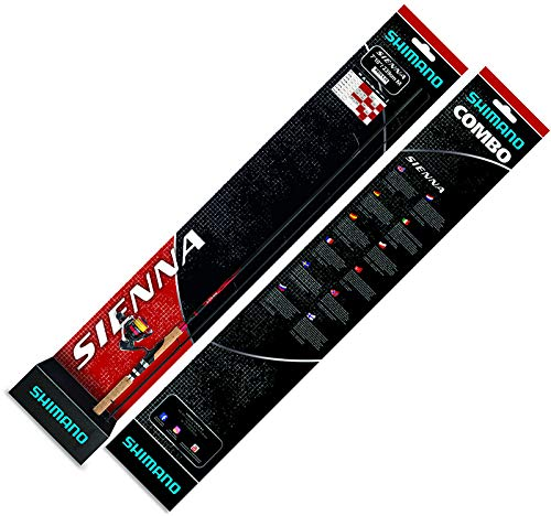 SHIMANO Set Canne+Moulinet Sienna Spinning 810Ml + Sienna 2500 + Mono 0,260mm - 269cm - P.7-21g - SMCSSN810MLC