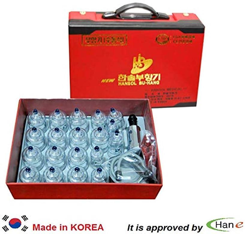 拷問魔術師失効韓国カッピングセット19カップハンディケース付属カッピングマッサージ真空吸引