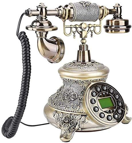 ZHAOH Línea Fija Retro Teléfono de Estilo Retro de la UE Teléfono de la Mesa de Moda clásica para Teléfono Decorativo