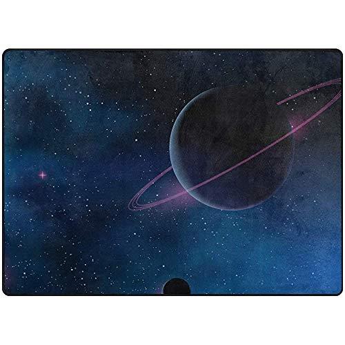 FANCYDAY Space Planet NASA groot gebied tapijt voor Science Fictie Patroon Zachte baby spelen Mat Activiteit Tapijt Oefening Mat 24X36IN 2040402