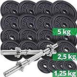 Hantelset mit vielen Gewichten