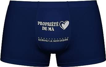 Boxers pour Hommes Attention Herr Plavkin Ma Copine est Jalouse! Cadeau danniversaire dr/ôle