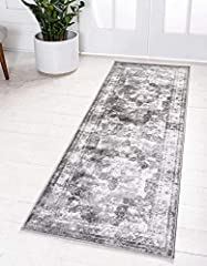 Pile: 100% Polypropylene / Backing: Cotton / Weave: Machine Made (Power-Loomed) / Made in: Turkey Easy-to-clean, stain resistant, and does not shed. Underlay (rug pad) recommended to prevent slipping and sliding. Easy to clean, just follow these inst...