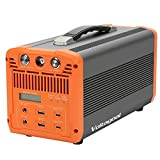 Portable Power Station 700W, Voltagoal Solar Generators 745.9Wh/201600mAh with 110V AC Outlets, QC 3.0 & Type C, UPS Battery Backup for CPAP | Mobile Lithium Battery Pack for Power Outdoors Camping Emergency