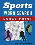 Word Search Puzzle Book Sports & Games Edition: Large Print Word Find Puzzles for Adults: 1 (Large Print Brain Games)