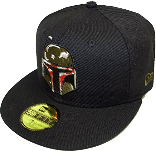 New Era Boba Fett Black Cap 59fifty Basic Fitted Limited Edition Star Wars Mens