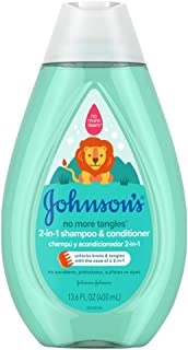 Johnsons Baby Shampoo & Conditioner 2-In-1 13.6 Ounce (400ml) (2 Pack)