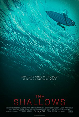 THE SHALLOWS MOVIE POSTER 1 Sided ORIGINAL 27x40 BLAKE LIVELY