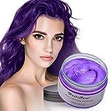 Haarfarbe Wachs,HailiCare Temporäre Haarfarbe Farbstoff Natürliche Frisur Wachs Haar Styling Wachs...