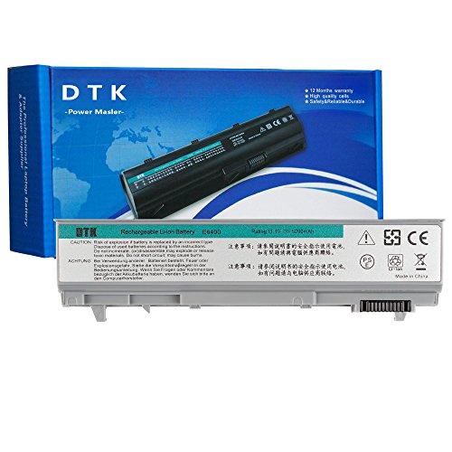 DTK 0RG049 PT434 KY265 W1193 Laptop Battery Replacement for Dell Latitude E6400 E6410 E6500 E6510 Precision M2400 M4400 M4500 Notebook 11.1V 5200mAh 6-Cell