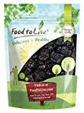 Pitted Prunes, 2 Pounds — Whole Dried Plums, Unsulfured, Unsweetened, Non-Infused, Non-Oil Added, Non-Irradiated, Vegan, Raw, Bulk