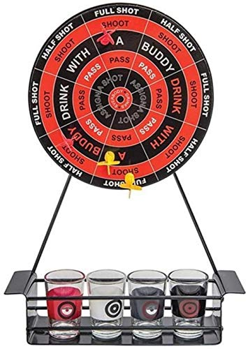 B-fengliu Dartboards Dart Shot Trinkspiel Bingo Spielzeug Dart Board Trinkspiel Set for Club Bar Partys Feiertage