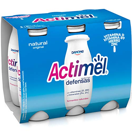 Actimel Danone Natural, 6 x 100g