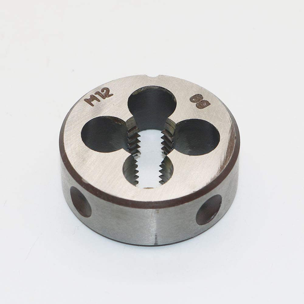 Copper And Aluminum. Machine Thread Die M4 X 0.7mm Pitch for Mold Machining HSS 4mm X 0.7 Metric Right Hand Round Die Alloy Steel Cast Iron It Can Process Steel