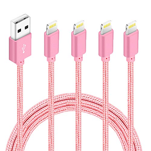4 Pack of High-Speed iPhone Charging Cables Now $6.80