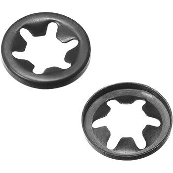 Starlock Rondelles M20 x 40 Intérieur Dent Clips Attache Assortment Kit 50 pcs