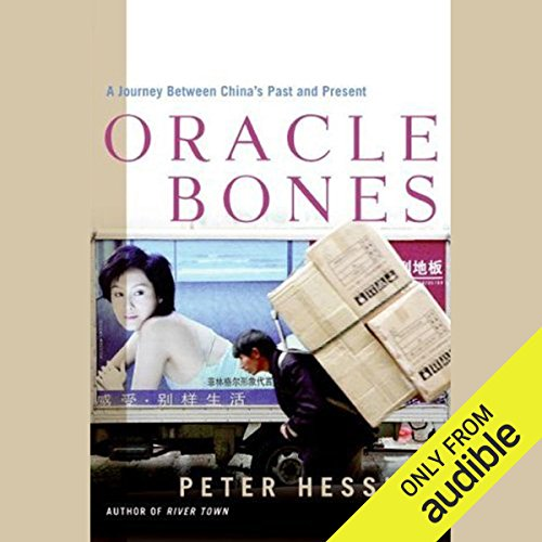 Oracle Bones audiobook cover art