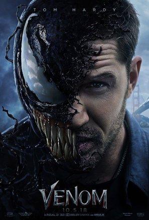 Import Posters Venom – Tom Hardy – U.S Movie Wall Poster Print - 30CM X 43CM