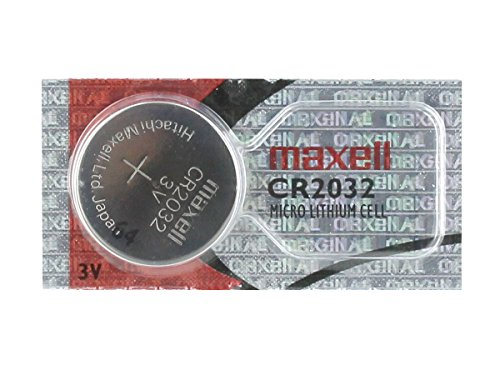 Maxell 3V Lithium Coin Cell Battery CR2032 Replaces DL2032, KL2032 USA SHIP