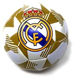 Real Madrid Soccer Ball Size 5 Official Licensed Futbol Gold 2019-2020 Great for Players, Fans, Trainers, Coaches Gift La Liga Espanol