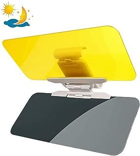 Universal Car Sun Visor Extender Car Anti-Glare Tinted Windshield Anti-Dazzle Day Night Visor Sunshade Driving Mirror HD Clear View