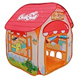 Tents Kinderspielzelt, Haushalt Super Light Spielhaus Zelte Faltbare Spielzelt Kinderzelt - 90 * 90 * 115CM - (Size : 90 * 90 * 115CM)