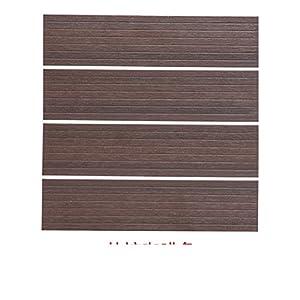 Suelo de madera al aire libre/pisos wpc/el balcón,baño,suelo de madera de diy-A 30x30cm(12x12inch)