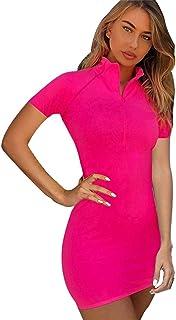 1dafe3e49c4f Amazon.com: High Neck - Dresses / Clothing: Clothing, Shoes & Jewelry