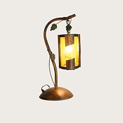 RAING Rustic Antique Brush Brass Kerosene Desk Lamps Creativo ...