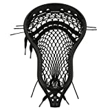 StringKing Men's Mark 2D Defense Lacrosse Head Strung with Type 4s Mesh (Black/Black)