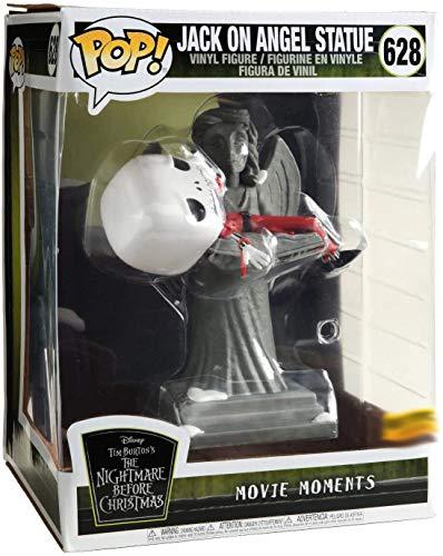 Funko 9705 Pop! Movie Moments Pesadilla Antes de Navidad - Jack en Estatua de Ángel Edicion Especial