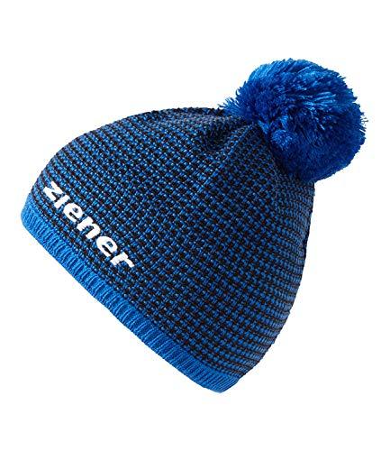 Ziener Erwachsene IMIT hat Bommel-Mütze, persian blue, One size